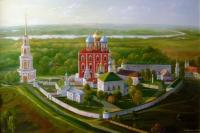 Oleg Kulagin The views of Ryazan Kremlin. Architecture