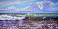 Oleg Kulagin The melody of the waves. Seascape