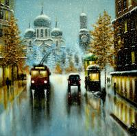 Alex Snow-covered city Urban Landscape