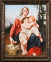 "Pavel Epifanov Copy of Bouguereau ""The Holy Family"", 1863 Copies of paintings"