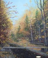 YURIKO Autumn. The bridge Symbolic composition
