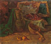 Vasily Belikov Still life with pot Still Life