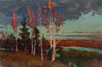 Alexey Golovchenko In the fall Rural Landscape