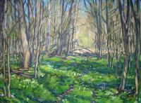 Semenov Yurij The smell of spring Landscape