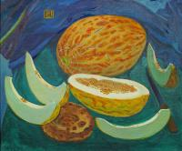 Moesey Li Melons Still Life