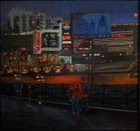 Nina Belova EVENING Urban Landscape