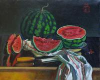 Moesey Li Watermelon Still Life