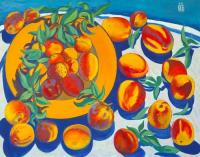 Moesey Li Peaches Still Life