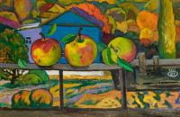 Moesey Li Apples on the balcony Still Life