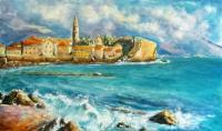 "Viktoriya ""Views of Old Budva"" Urban Landscape"