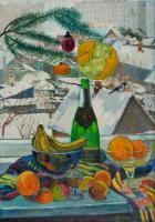 Moesey Li New Years still life Still Life